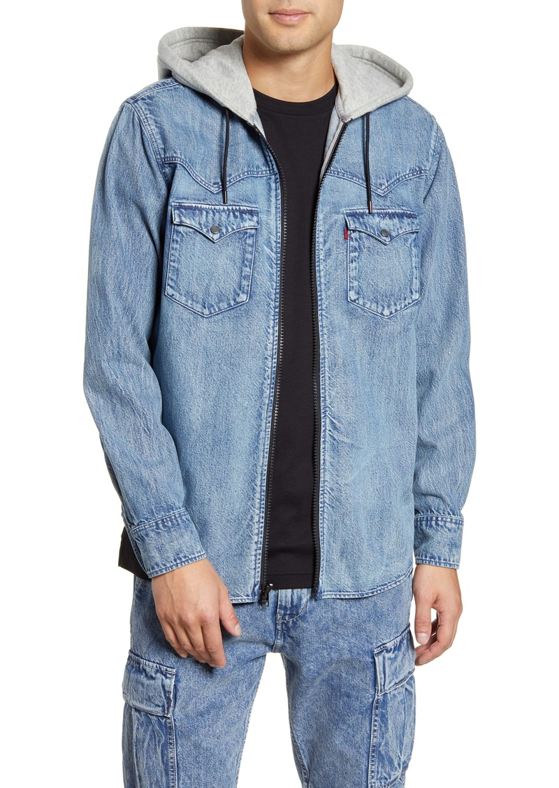 Levi's® x Justin Timberlake Hooded Zip-Up Western Shirt