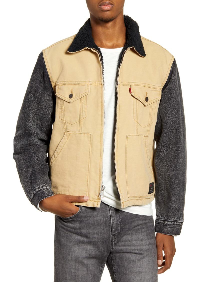 Levi's® x Justin Timberlake Hybrid Fleece Lined Trucker Jacket