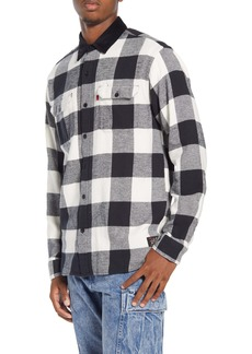 Levi's® x Justin Timberlake Regular Fit Button-Up Plaid Flannel Worker Shirt