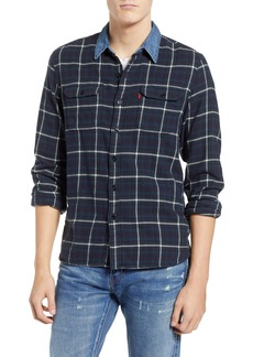 Levi's® x Justin Timberlake Slim Fit Flannel Worker Shirt