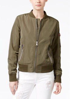 Levi's Zip-Detail Bomber Jacket