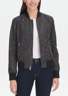 Levi's Women's Zip-Detail Bomber Jacket