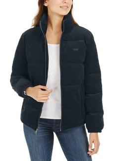 Levi's Zip-Up Cotton Corduroy Puffy Jacket
