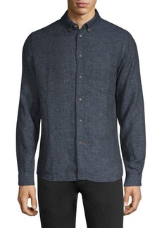 Levi's Linen-Cotton Button-Down Shirt