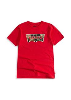 Levi's Little Boy's & Boy's Camo Batwing Logo T-Shirt