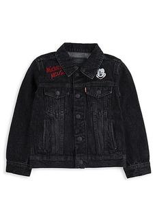 Levi's Little Boy's Mickey Mouse Trucker Denim Jacket