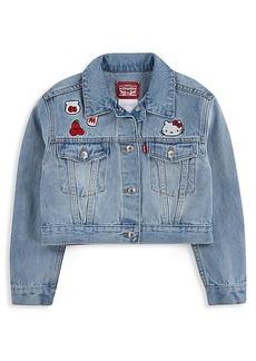 Levi's Little Girl's Hello Kitty Denim Jacket