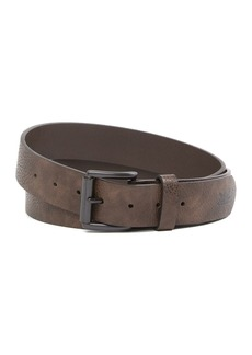 Levi's Logo Embossed Leather Belt
