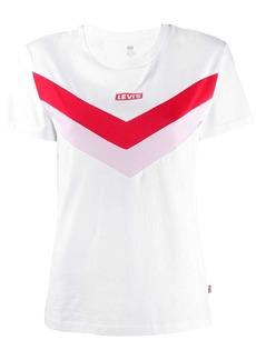 Levi's logo panelled T-shirt