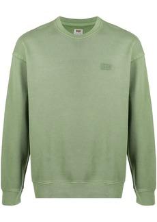 Levi's logo print cotton sweatshirt