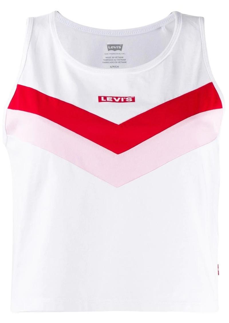 Levi's logo vest top