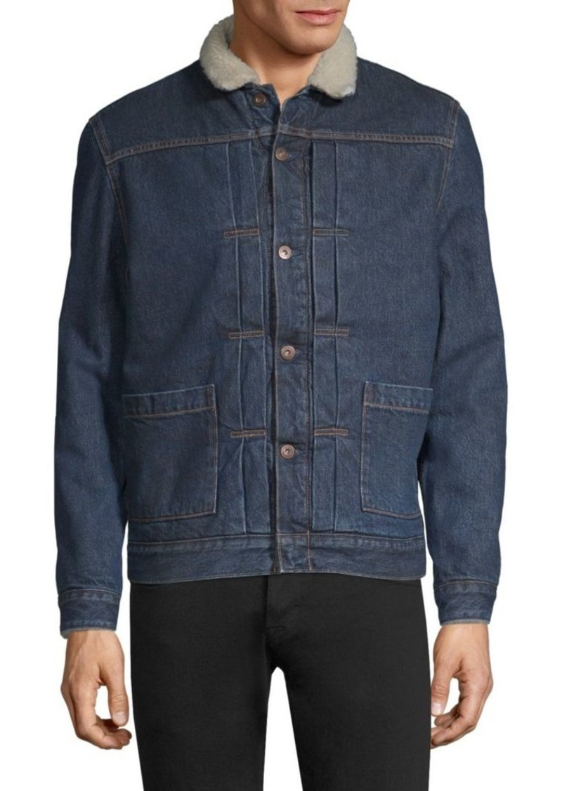 Levi's Made & Crafted J-Type II Sherpa Trucker Jacket