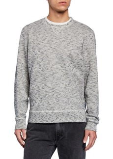 Levi's Men's Geometric Crewneck Fleece Sweatshirt