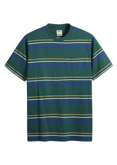 Men's Levi's Relaxed Fit Stripe Men's Pocket T-Shirt