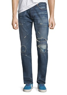 Levi's Men's Made & Crafted 501™ Original-Fit Distressed Jeans