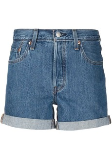 Levi's mid-rise cotton shorts