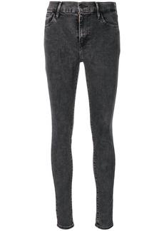 Levi's mid rise skinny jeans