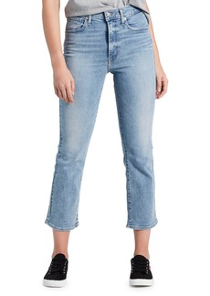 Levi's Mile High Cropped Flare-Leg Jeans