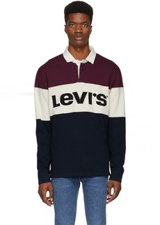 Levi's Multicolor Mighty Made Rugby Polo
