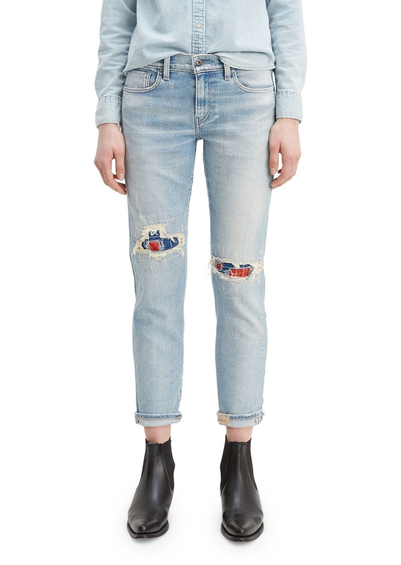 Levi's New Boyfriend Rip & Repair Jeans