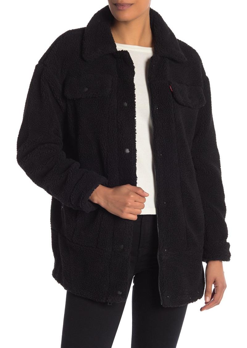 Levi's Teddy Faux Shearling Trucker Jacket