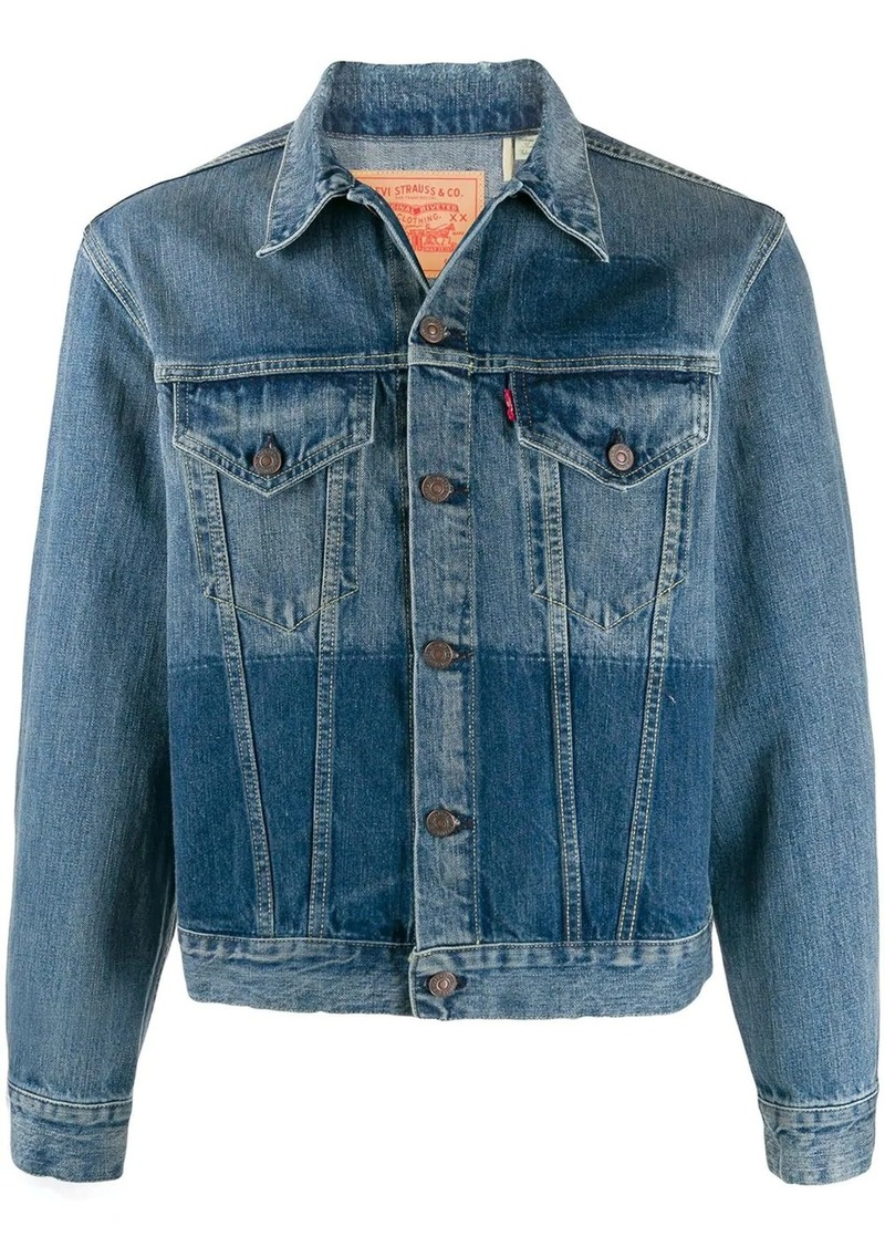 Levi's patch dyed jacket