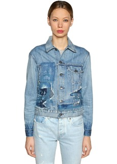 Levi's Patchwork Denim Trucker Jacket
