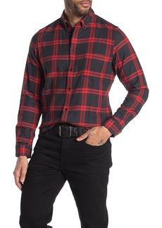 Levi's Plaid Long Sleeve Standard Fit Shirt