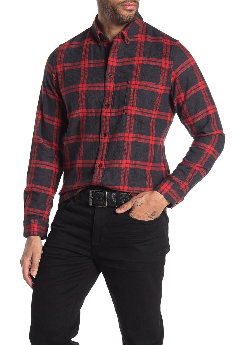 Levi's Plaid Long Sleeve Standard Fit Shirt