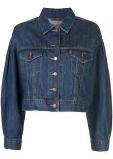 Levi's pleat sleeve trucker jacket