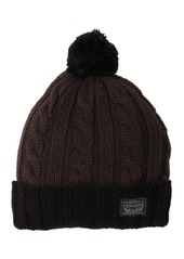 Levi's Pompom Cable Beanie