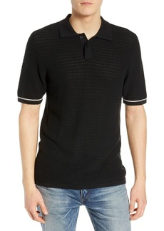 Levi's Regular Fit Crochet Stitch Polo