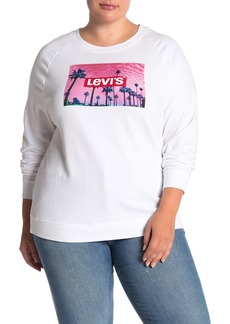 Levi's Relaxed Logo Pullover Sweatshirt (Plus Size)