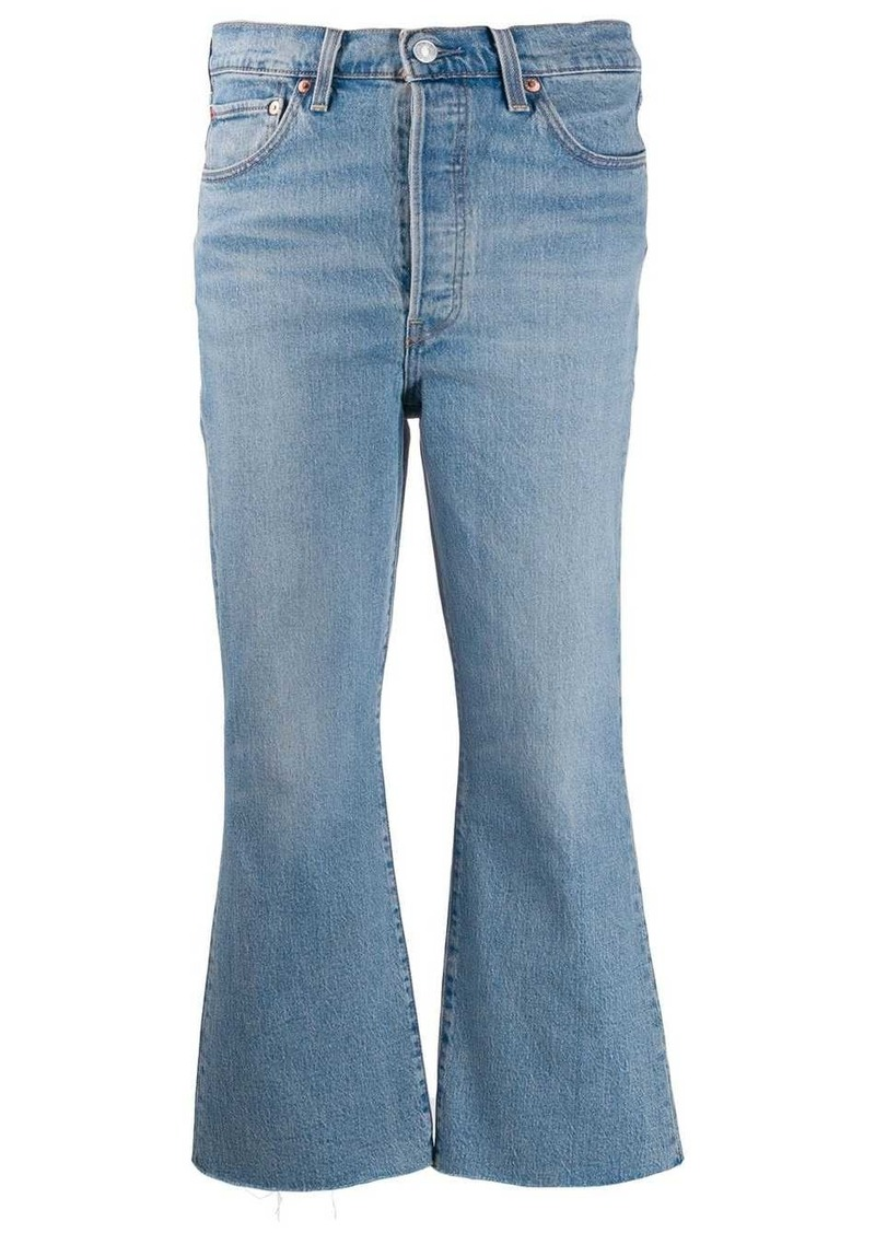 Levi's Ribcage flared jeans