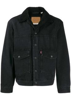 Levi's shearling lined denim jacket