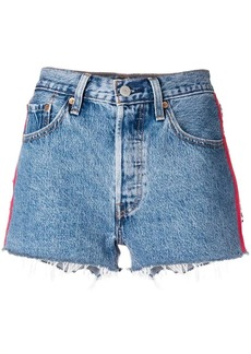 Levi's side bands denim shorts