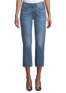 Levi's Slim Cropped Straight-Leg Jeans