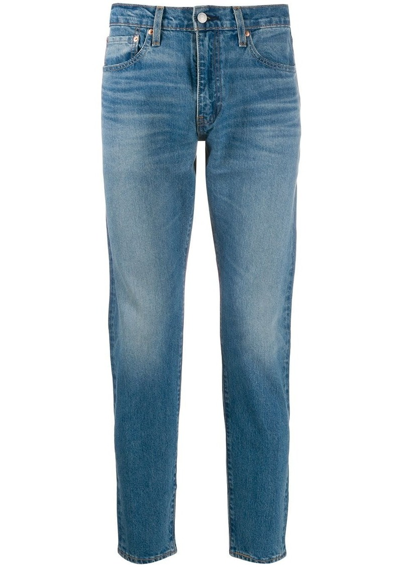 Levi's slim faded jeans