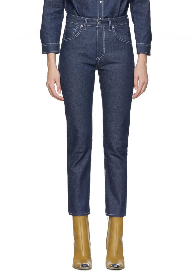 Levi's SSENSE Exclusive Indigo Slim Jeans