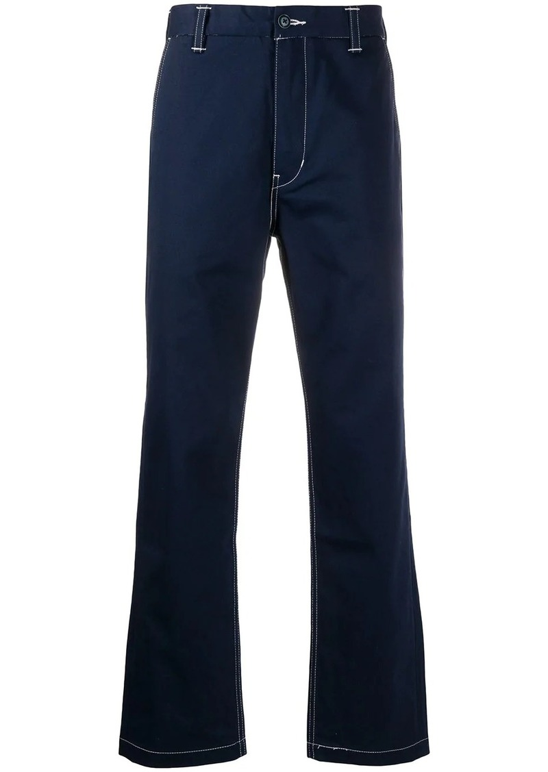 Levi's stitch detail trousers