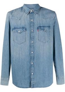 Levi's stonewashed denim shirt