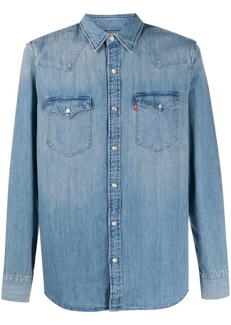 Levi's stonewashed denim shirt