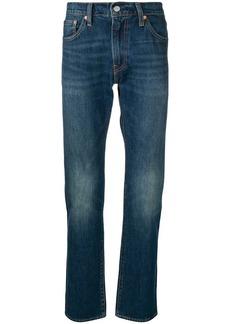 Levi's stonewashed slim-fit jeans