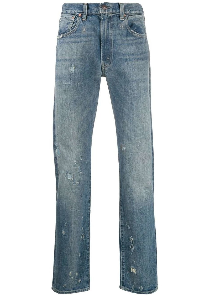 Levi's straight leg trousers