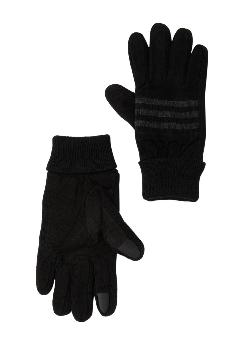 Levi's Suede Knit Piercing Gloves
