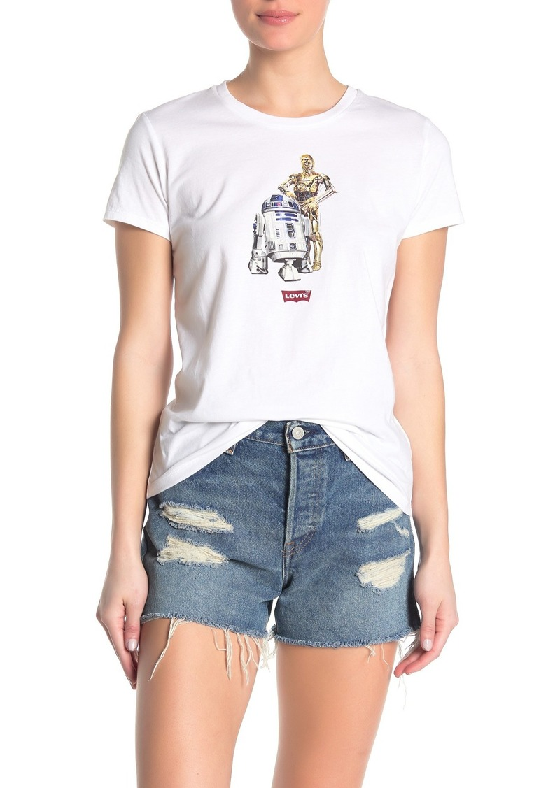 Levi's The Perfect C3PO R2D2 Star Wars T-Shirt