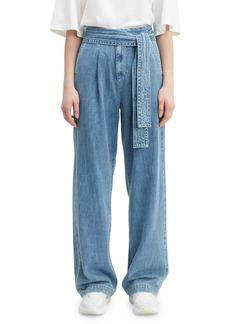 Levi's Tie-Waist Denim Trousers