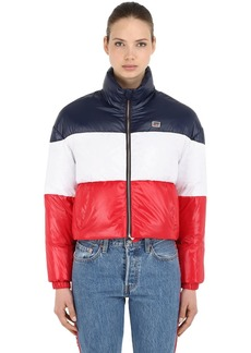 Levi's Tricolor Nylon Down Jacket