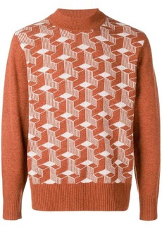 Levi's turtleneck graphic jumper