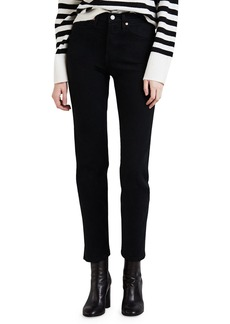 Levi's Wedgie Fit Straight-Leg Cropped Jeans